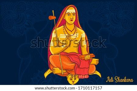 Adi Shankaracharya was an early 8th century Indian philosopher and theologian who consolidated the doctrine of Advaita Vedanta.