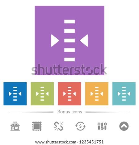 adjust level flat white icons