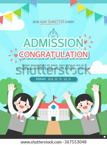 Admission Event template