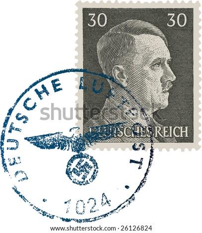 adolph hitler stamp