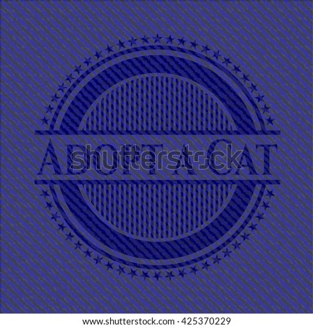 Adopt a Cat jean background