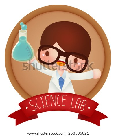 adorable science banner