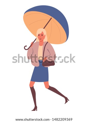 adorable woman dressed in