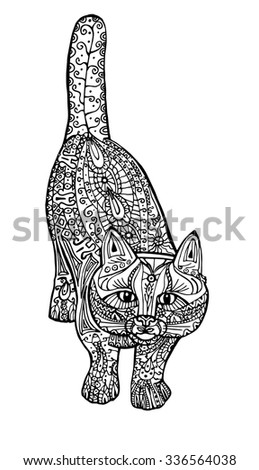 adult antistress coloring