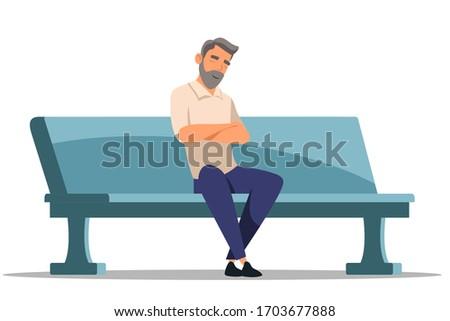adult bearded man sleeping