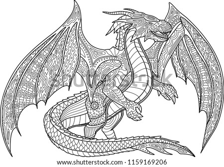 Dragon Coloring Pages Pdf At GetDrawings Free Download