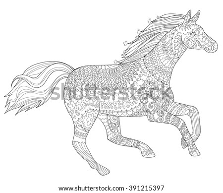 adult coloring page for