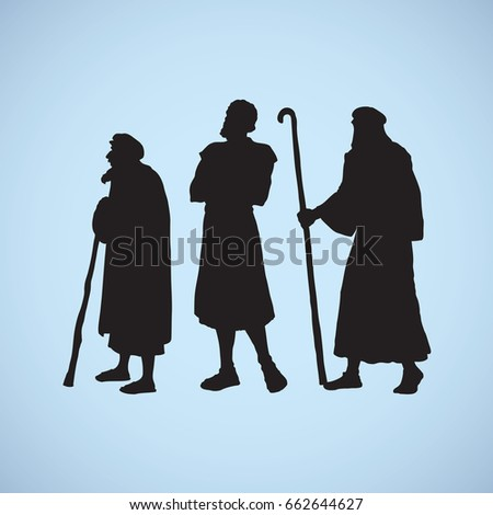 adult medieval herdsman  aged...