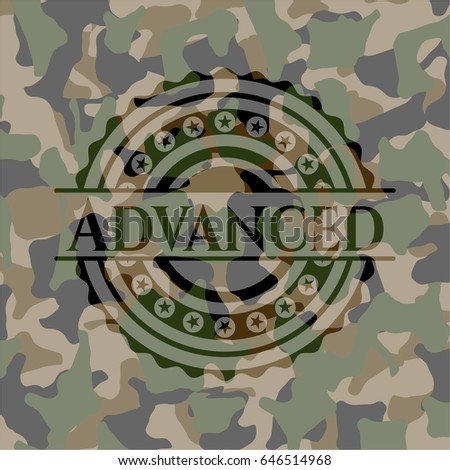 advanced camo emblem