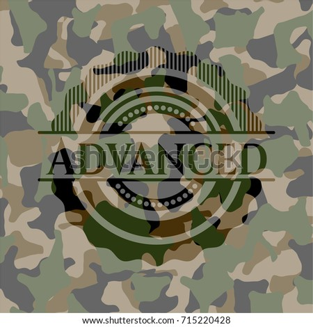 advanced camouflage emblem