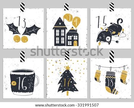 December Advent Calendar Download Free Vector Art Stock Graphics