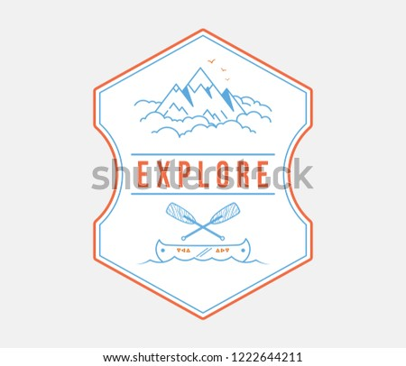 Adventure exploration is a vector illustration about discovering and exploring