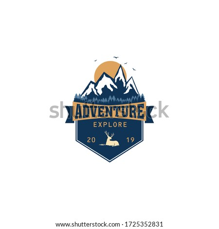 Adventure Explorer Logo Emblem Design