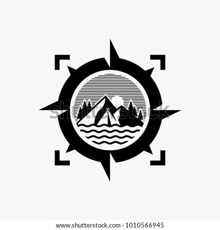 Adventure logo design, outdoor logo design