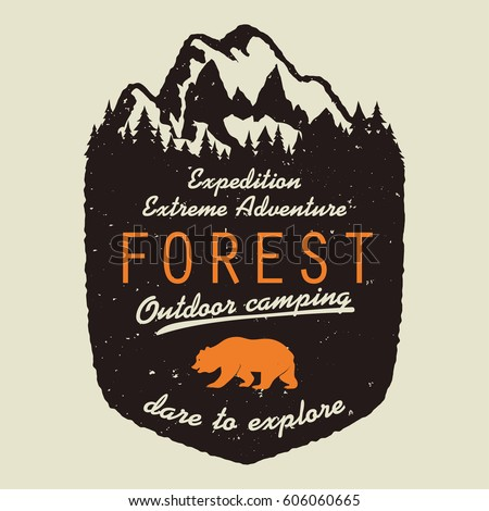 adventure logo. outdoor...