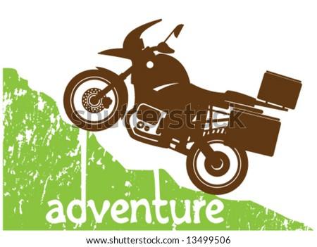 adventure moto climbing