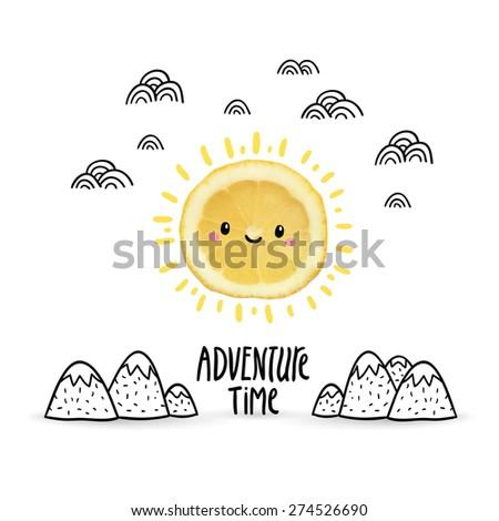 adventure time   cute doodle