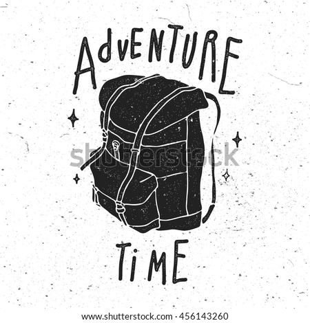 adventure time vintage stylized