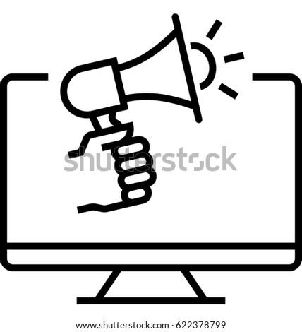 Advertising Campaign Vector Icon