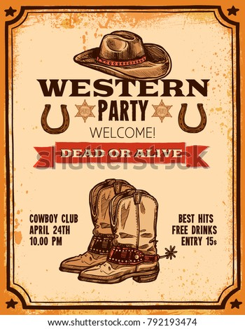 advertising of western party