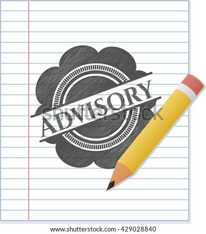 Advisory penciled