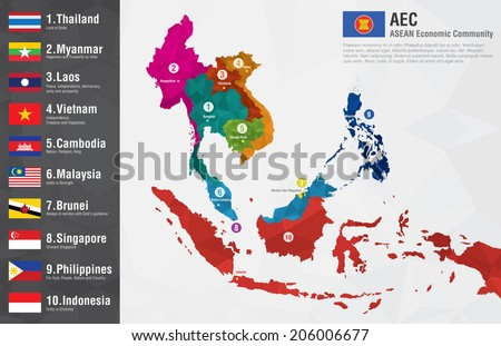 Singapore map and flag vectors download free vector art stock aec asean economic community world map with a pixel diamond texture and flags world geography gumiabroncs Image collections
