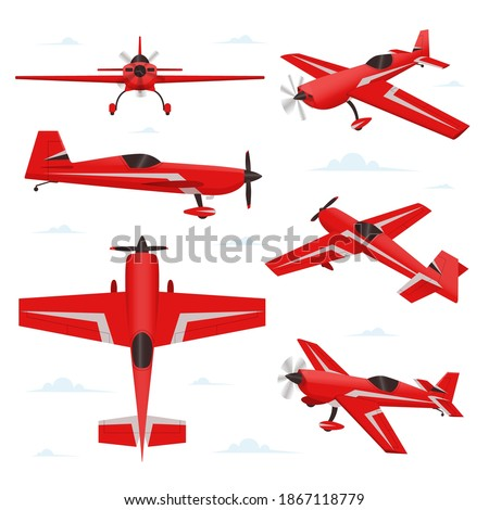 aerobatic aircraft in different