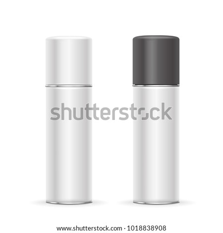 Aerosol spray metal bottle cans
