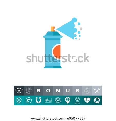 Shutterstock Aerosol Spray Paint Icon