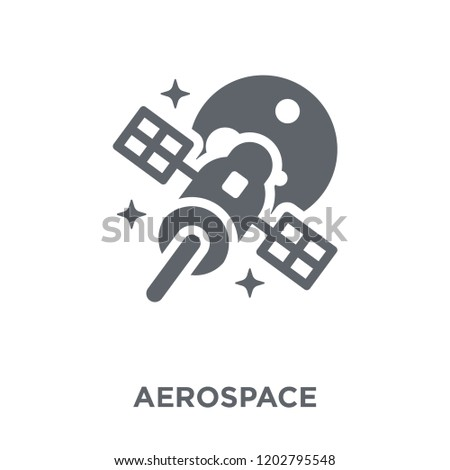aerospace icon. aerospace design concept from Astronomy collection. Simple element vector illustration on white background.