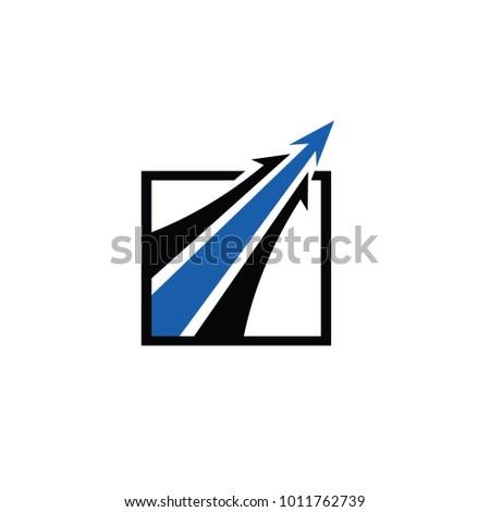 aerospace logo template vector