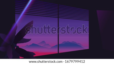 aesthetic louver window
