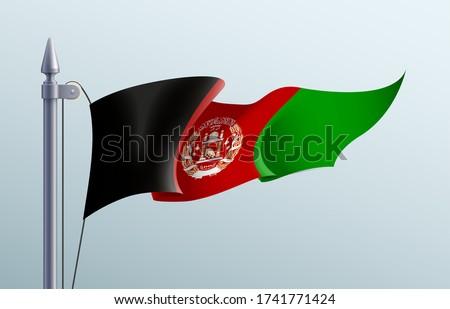afghanistan flag state symbol