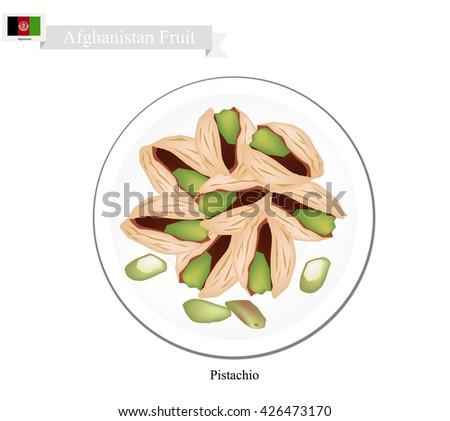 afghanistan fruit  illustration
