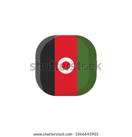 afghanistan icon  national flag