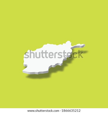 afghanistan   white 3d