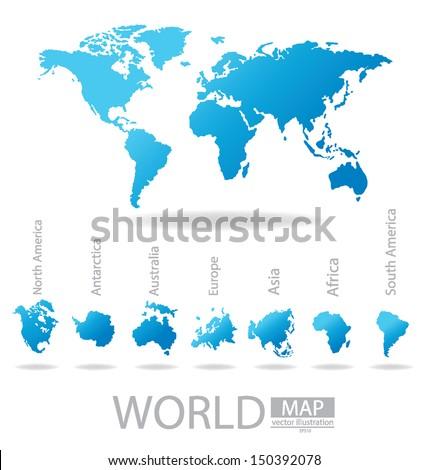 africa. antarctica. asia....