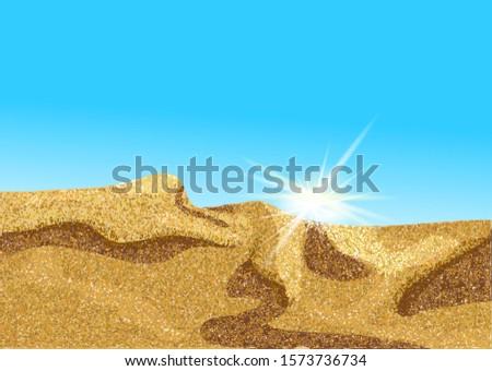 africa desert or coast dune