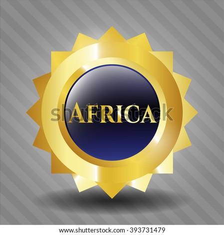 Africa golden badge