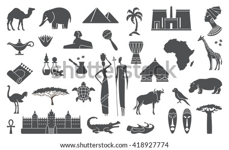 africa jungle ethnic culture