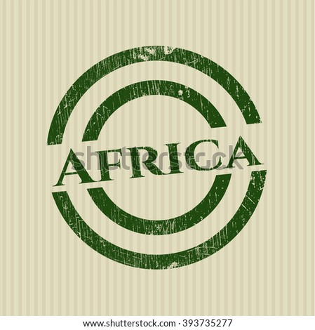 Africa rubber seal