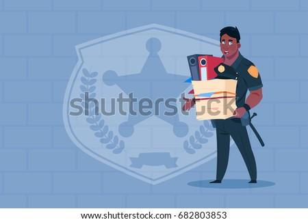 african american policeman