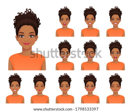 african american woman with