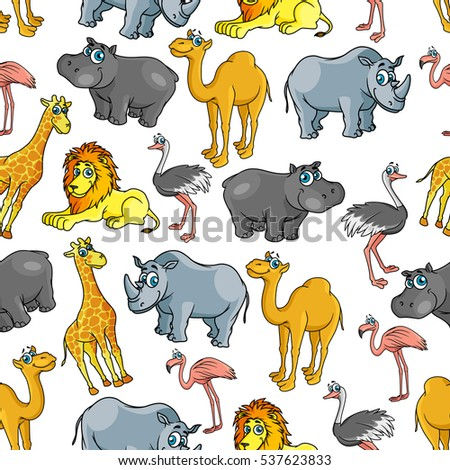 african and jungle cartoon