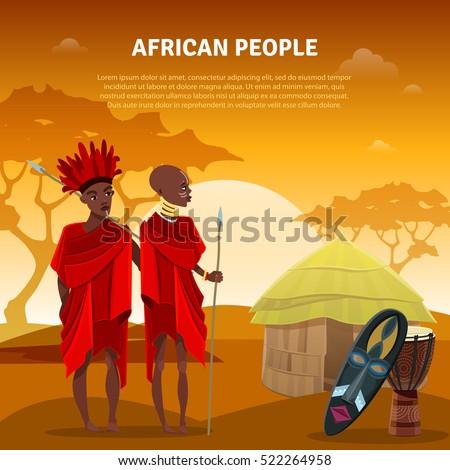 african ethnic tribal customs