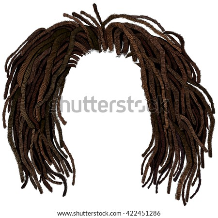Shutterstock african hair dreadlocks .hairstyle