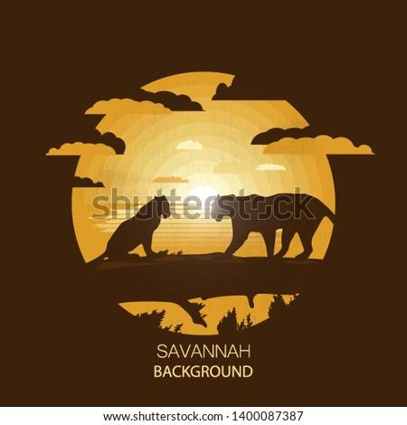 african landscapesavannahtwo