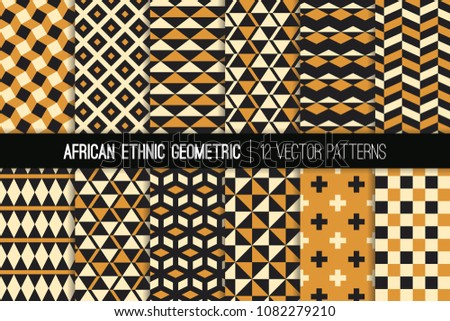 african ocher  black and white