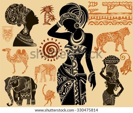african setafrican masks