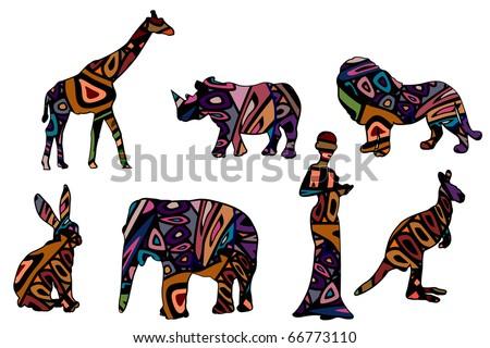 African Symbols Graphics Download Free Vector Art Stock Graphics